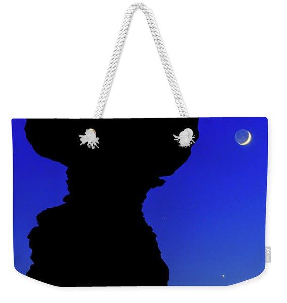 Crescent Weekender Tote Bag