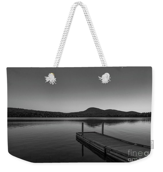 Crescent Moon Weekender Tote Bag