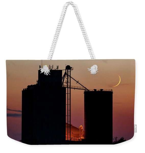 Crescent Moon At Laird 03 Weekender Tote Bag
