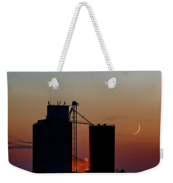 Crescent Moon At Laird 05 Weekender Tote Bag
