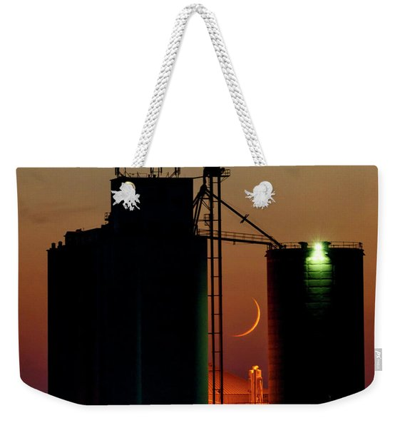 Crescent Moon At Laird 07 Weekender Tote Bag