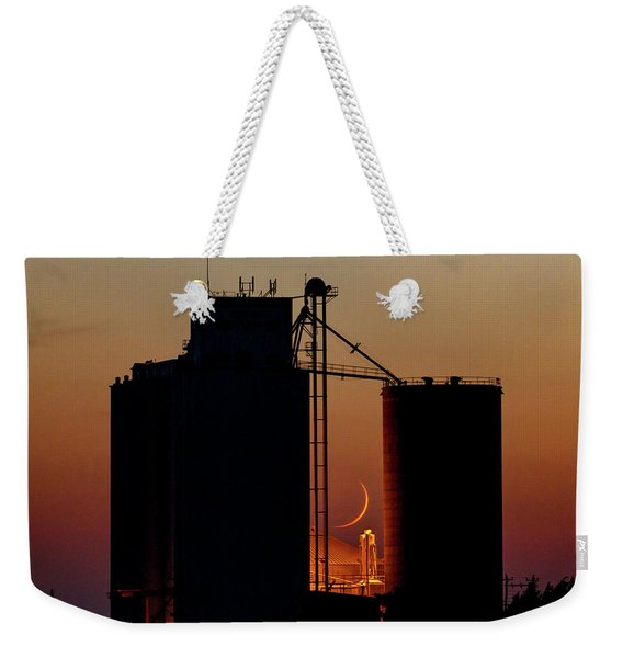 Crescent Moon At Laird 08 Weekender Tote Bag