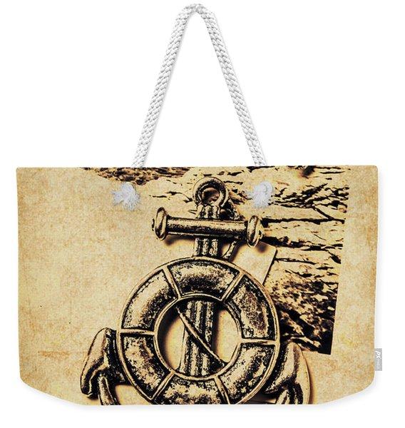 Crest Of Oceanic Adventure Weekender Tote Bag