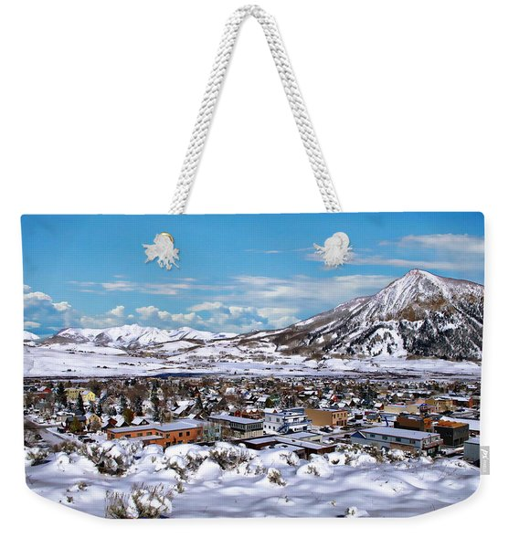 Crested Butte Panorama Weekender Tote Bag