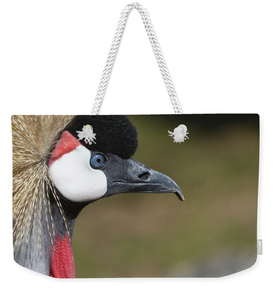 Crested Crane Weekender Tote Bag