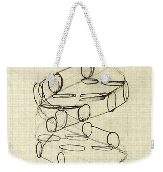 Cricks Original Dna Sketch Weekender Tote Bag