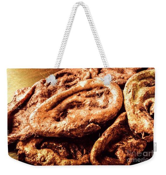 Crimes Of The Unheard Weekender Tote Bag