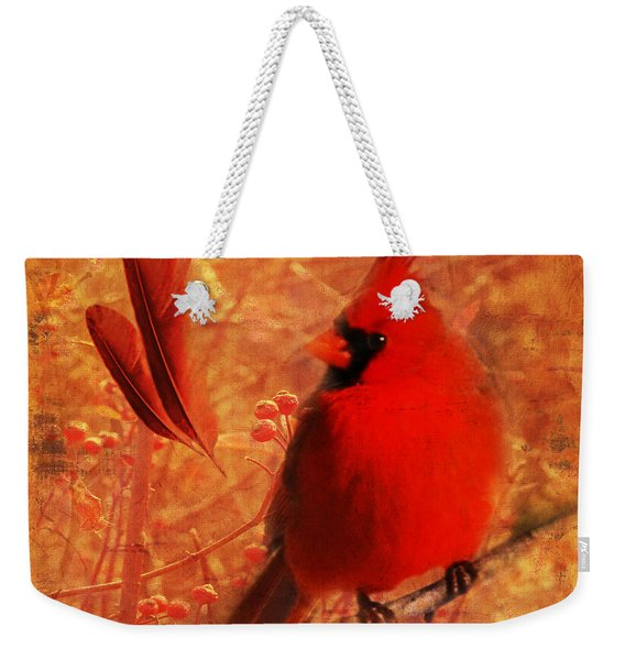 Crimson Splash 2015 Weekender Tote Bag