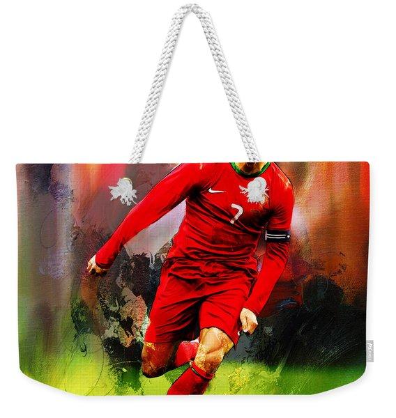 Cristiano Ronaldo 08a Weekender Tote Bag