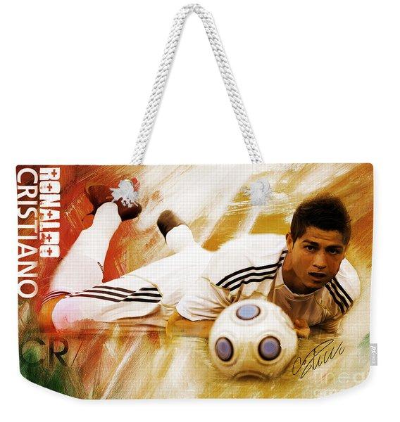 Cristiano Ronaldo 092f Weekender Tote Bag