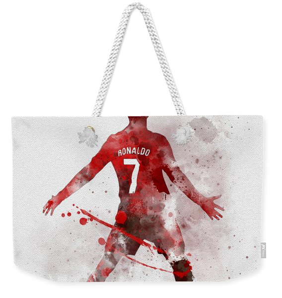 Cristiano Ronaldo United Weekender Tote Bag