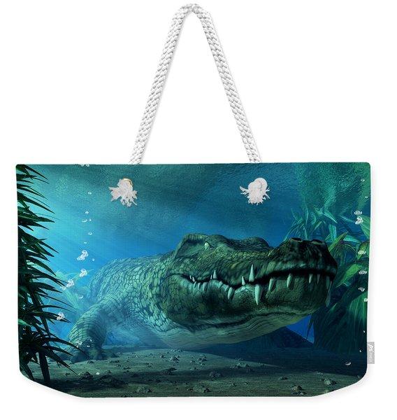 Crocodile Weekender Tote Bag