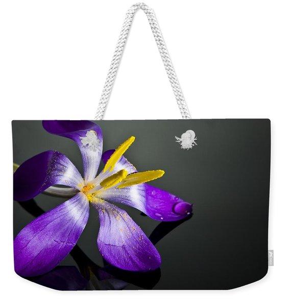 Crocus Weekender Tote Bag