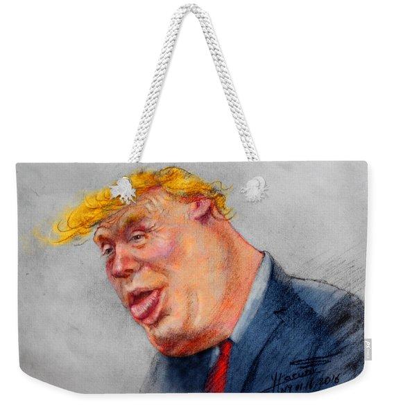 Crooked Trump Weekender Tote Bag
