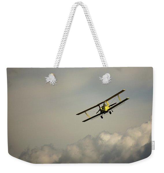 Crop Duster Weekender Tote Bag