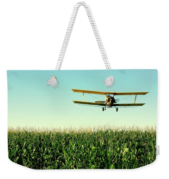 Crops Dusted Weekender Tote Bag