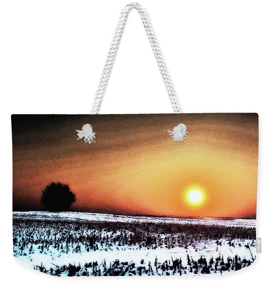 Crops In Weekender Tote Bag