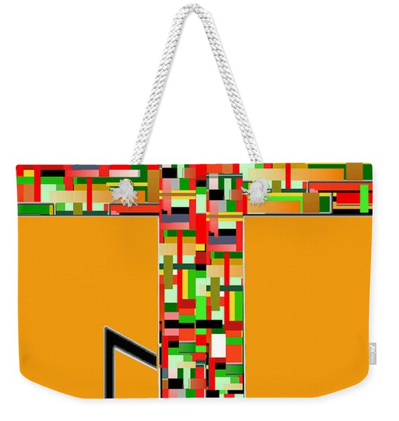 Cross No. 5 Weekender Tote Bag