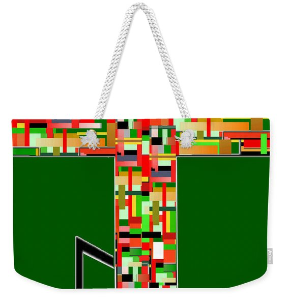 Cross No.2 Weekender Tote Bag