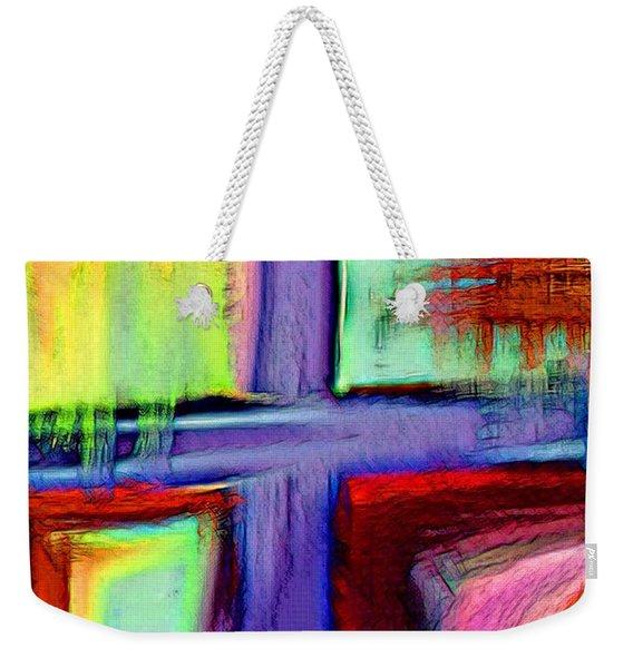 Cross Of Hope Weekender Tote Bag