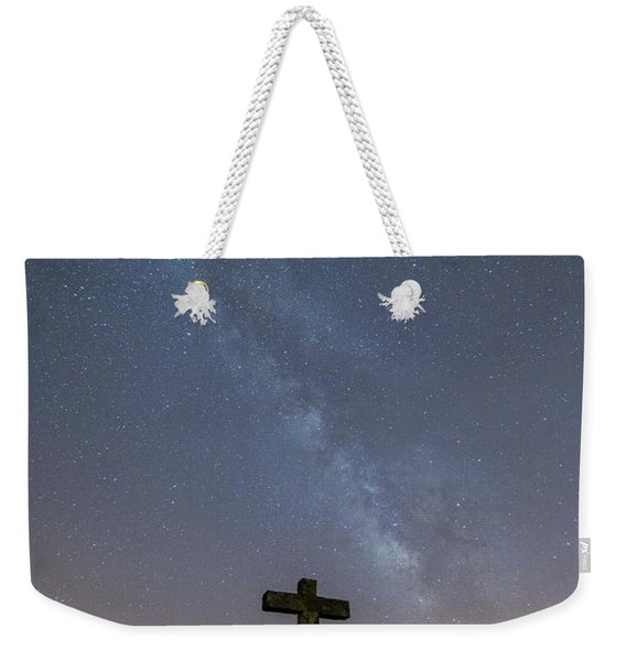 Cross Over To The Milky Way Weekender Tote Bag
