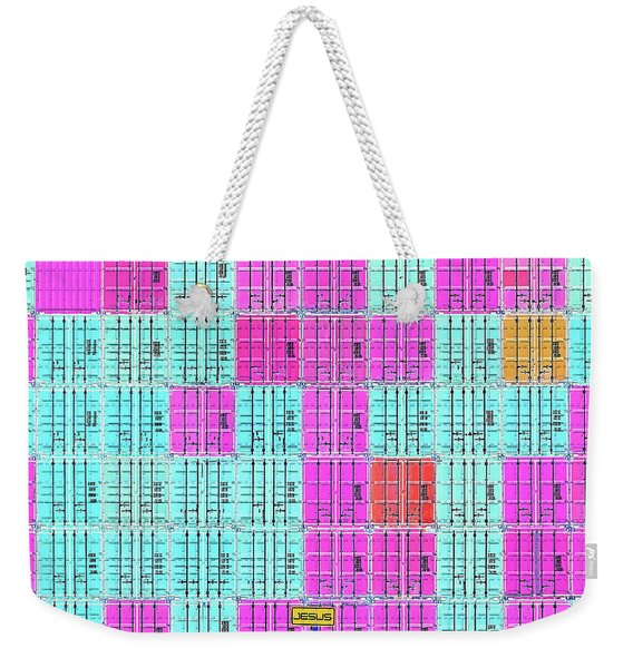Cross Shipping Weekender Tote Bag