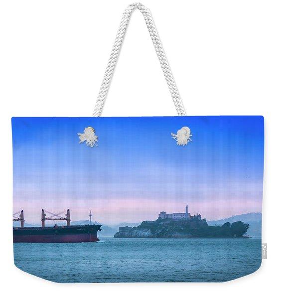 Crossing Alcatraz Weekender Tote Bag