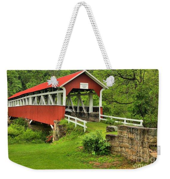 Crossing Laurel Hill Creek Weekender Tote Bag