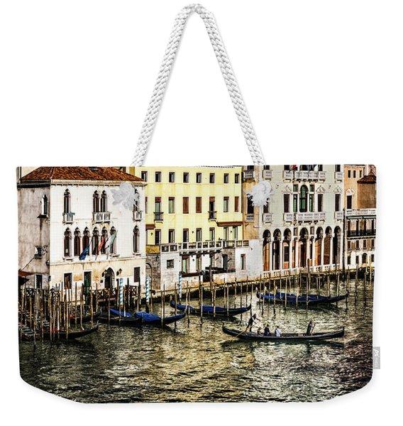 Crossing The Canal Weekender Tote Bag