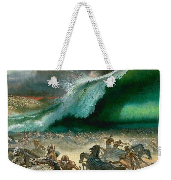 Crossing The Red Sea Weekender Tote Bag