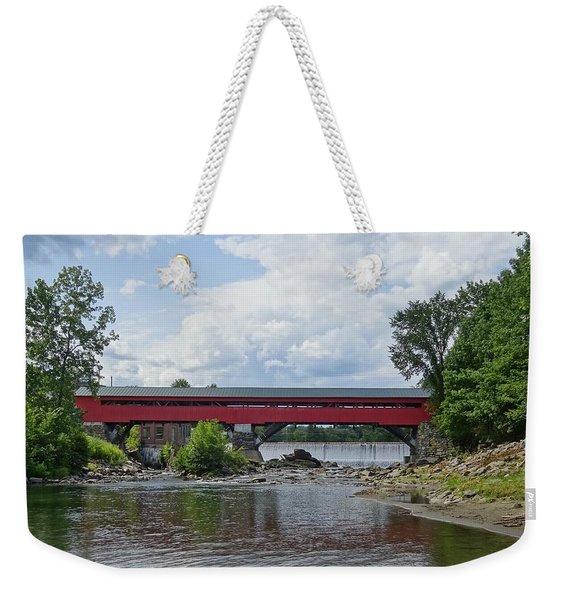 Crossing The Waters Weekender Tote Bag