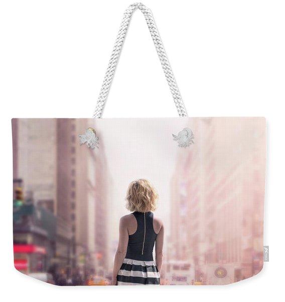Crosstown Swing Weekender Tote Bag