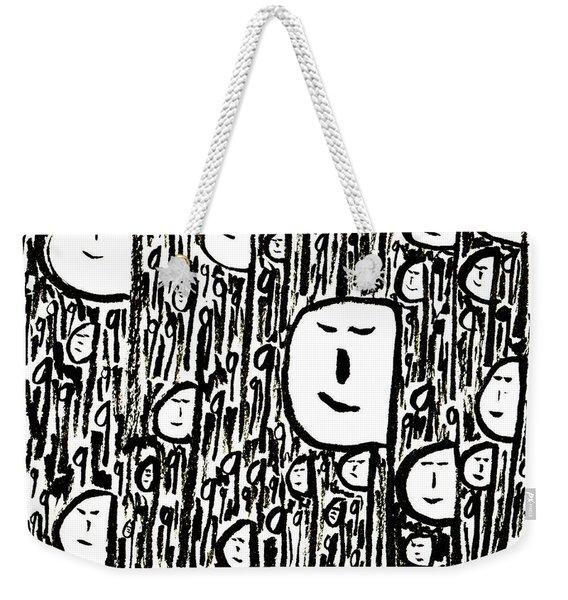 Crowd Weekender Tote Bag
