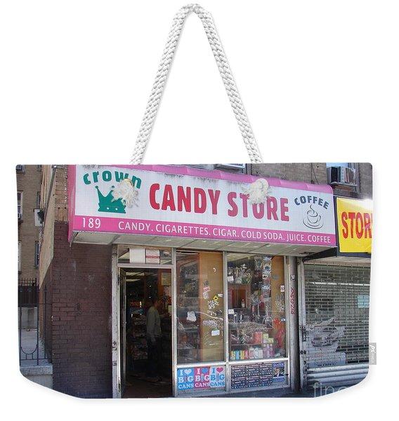 Crown Candy Store  Weekender Tote Bag