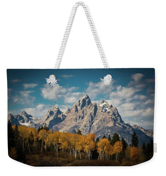 Crown For Tetons Weekender Tote Bag