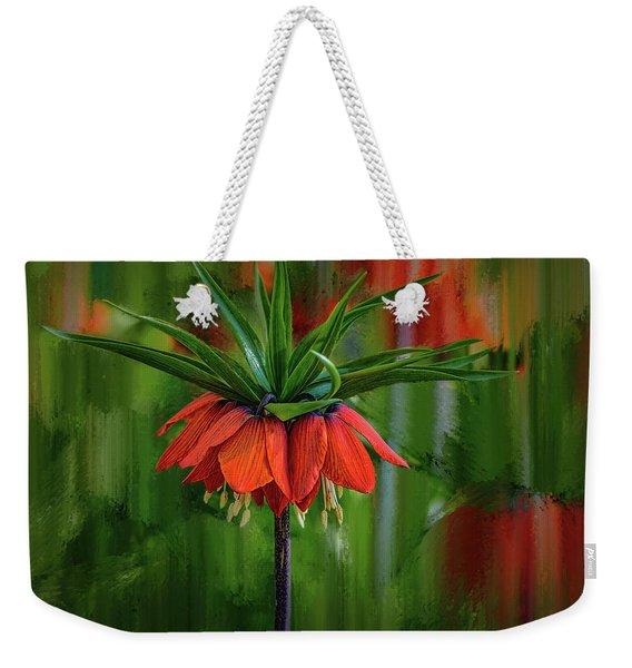 Crown-imperial Abstract #h5 Weekender Tote Bag