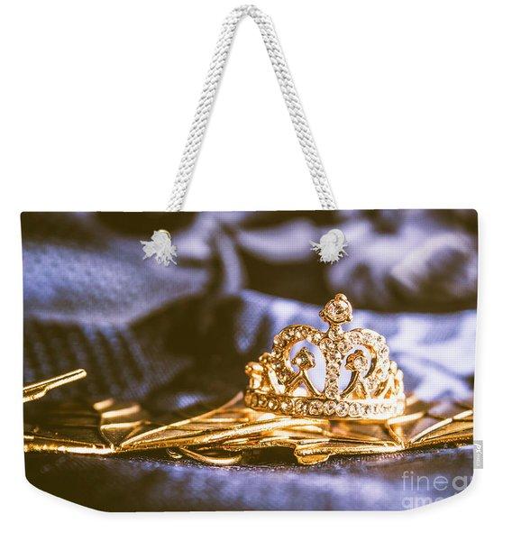 Crowned Tiara Jewellery Weekender Tote Bag