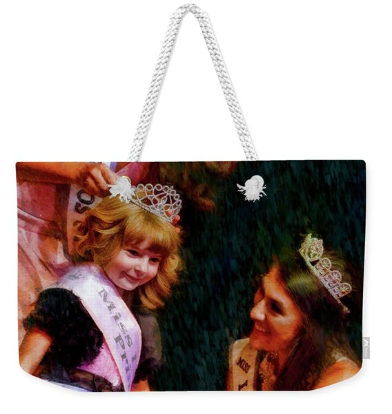 Crowning A Little Princss Weekender Tote Bag