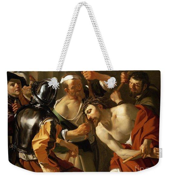 Crowning With Thorns Weekender Tote Bag