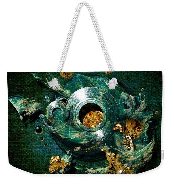Crucible Weekender Tote Bag