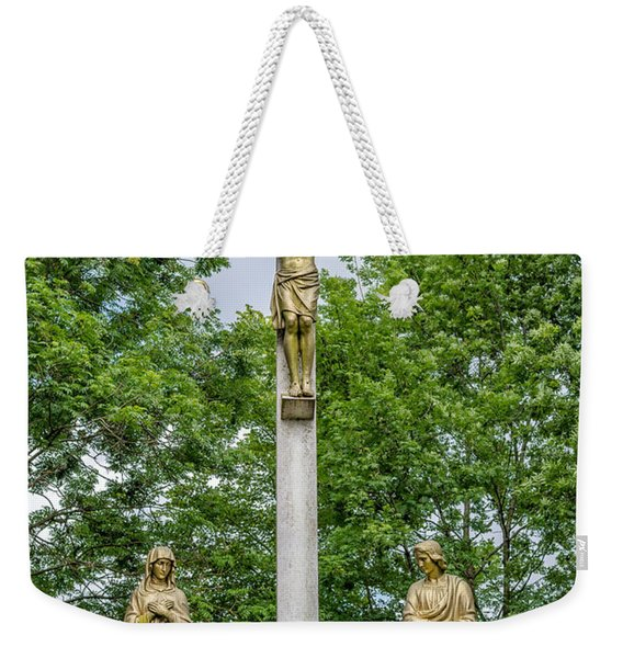 Crucified Weekender Tote Bag