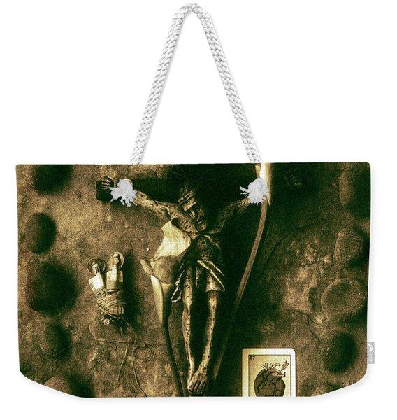 Crucifix, The Loss Weekender Tote Bag