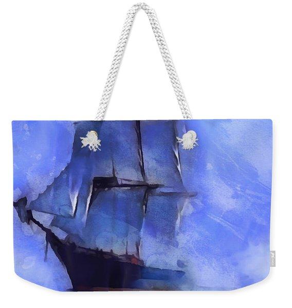 Cruising The Open Seas Weekender Tote Bag