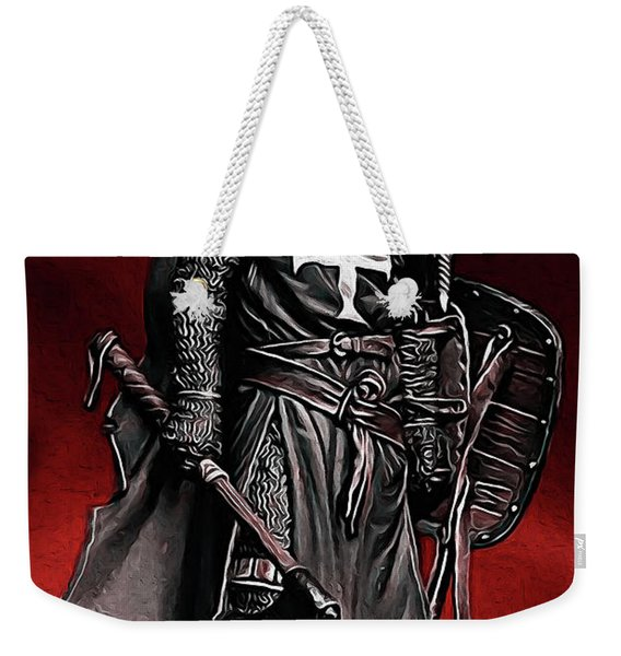 Crusader Warrior - Medieval Warfare Weekender Tote Bag