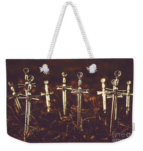 Crusaders Cemetery Weekender Tote Bag