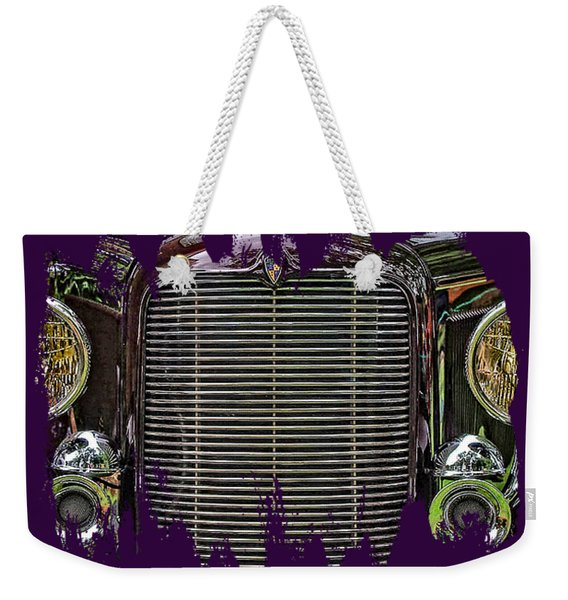 Crusin' With A 32 Desoto Weekender Tote Bag