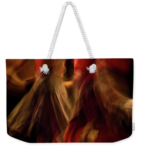 Weekender Tote Bag featuring the photograph Crychord 10 by Catherine Sobredo