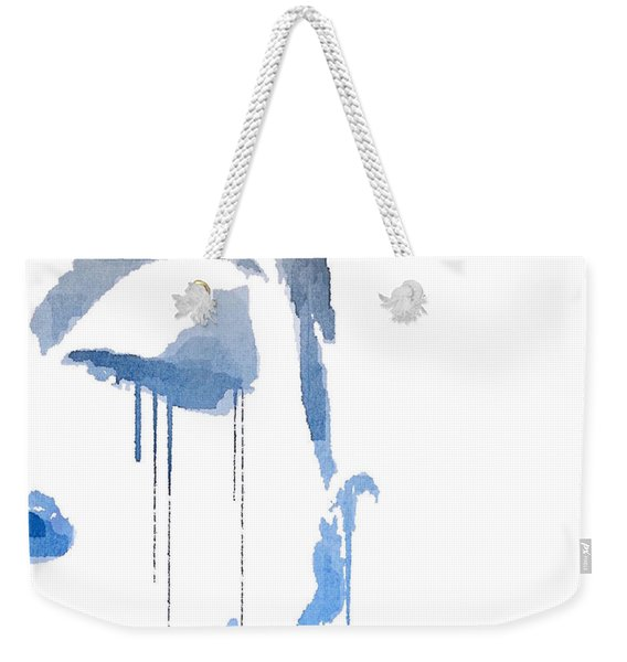 Crying In Pain Weekender Tote Bag