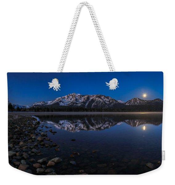 Crystal Blue Persuasion Weekender Tote Bag