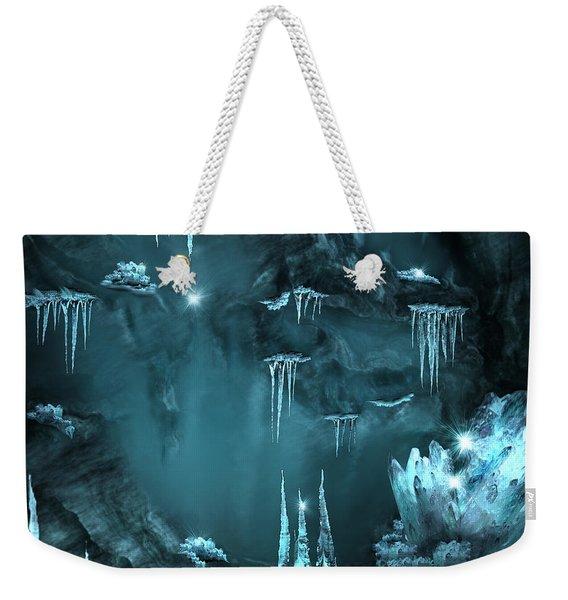 Crystal Cave Mystery Weekender Tote Bag